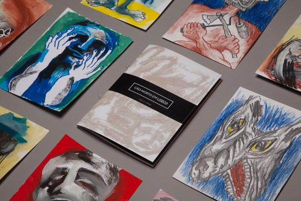 Each fanzine contains an original drawing