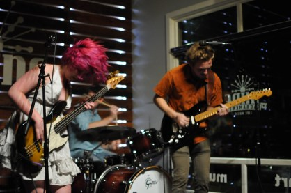 Embryo playing at Shine in Sacramento CA. 2015. Photo Emma Montalbano.