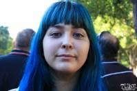 Audience member, Arianna Denise Huerta, Concerts in the Park, Cesar Chavez Park, Sacramento, CA. June 24, 2016. Photo Anouk Nexus