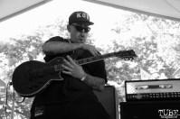 Guitarist of Kill The Precedent, Concerts in the Park, Cesar Chavez Park, Sacramento, CA. June 3, 2016, Photo Anouk Nexus