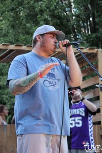 Guest singer for Arden Park Roots, Concerts in the Park, Cesar Chavez Park, Sacramento, CA. June 24, 2016. Photo: Anouk Nexus