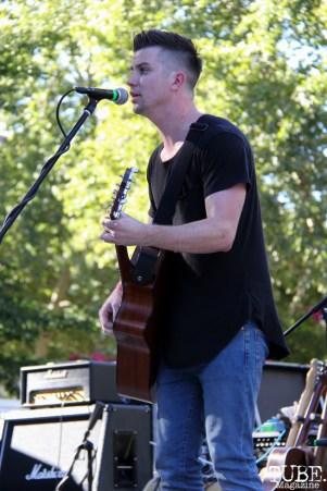 Singer/Acoustic Guitarist Taylor Green, Concerts in the Park, Cesar Chavez Park, Sacramento, CA. July 8, 2016. Photo Anouk Nexus