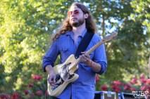 Guitarist for Colleen Heauser, Concerts in the Park, Cesar Chavez Park, Sacramento, CA. July 8, 2016. Photo Anouk Nexus