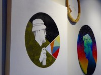 Works by Melissa Arendt, Nathan Cordero and Jose Di Gregorio.
