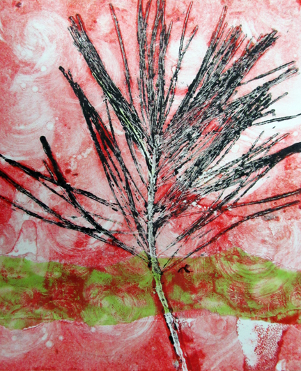 Red and Green Pine