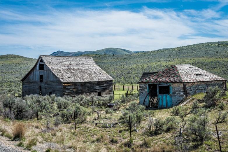 Abandoned Homestead, Oregon