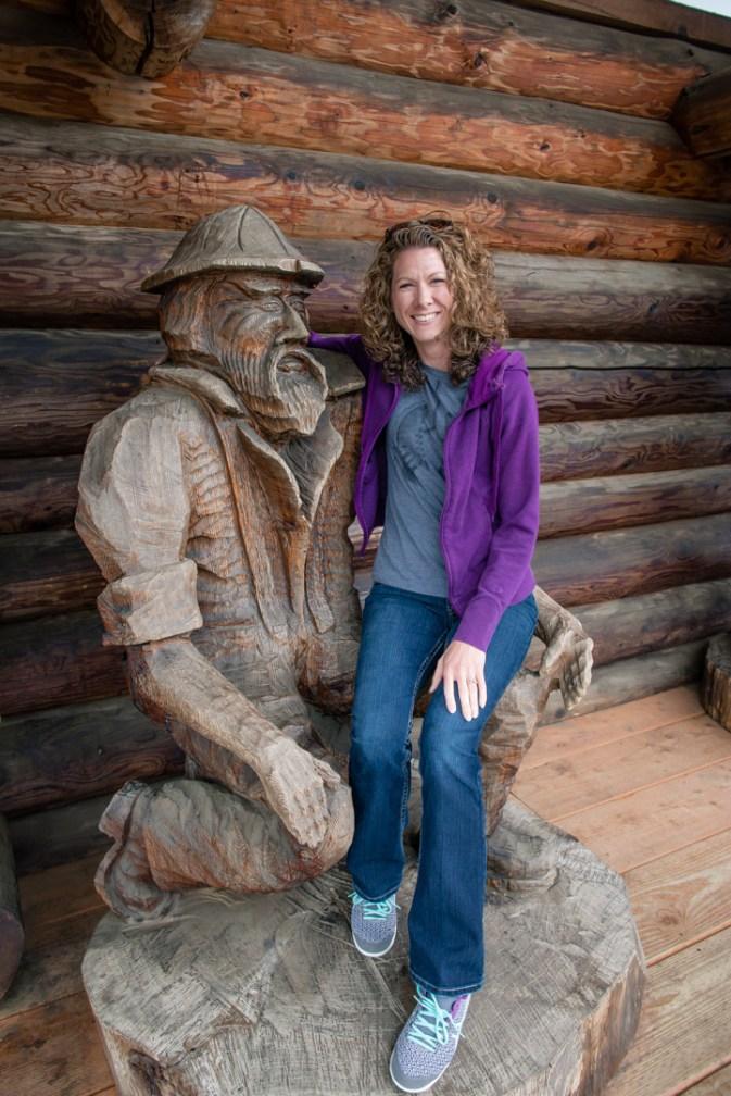 Melanie and her new Oregon boyfriend :) - Camp 18