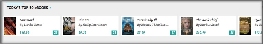 Top 50 on Kobo