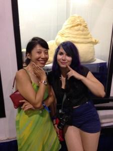 Me & Erika & butter Jabba