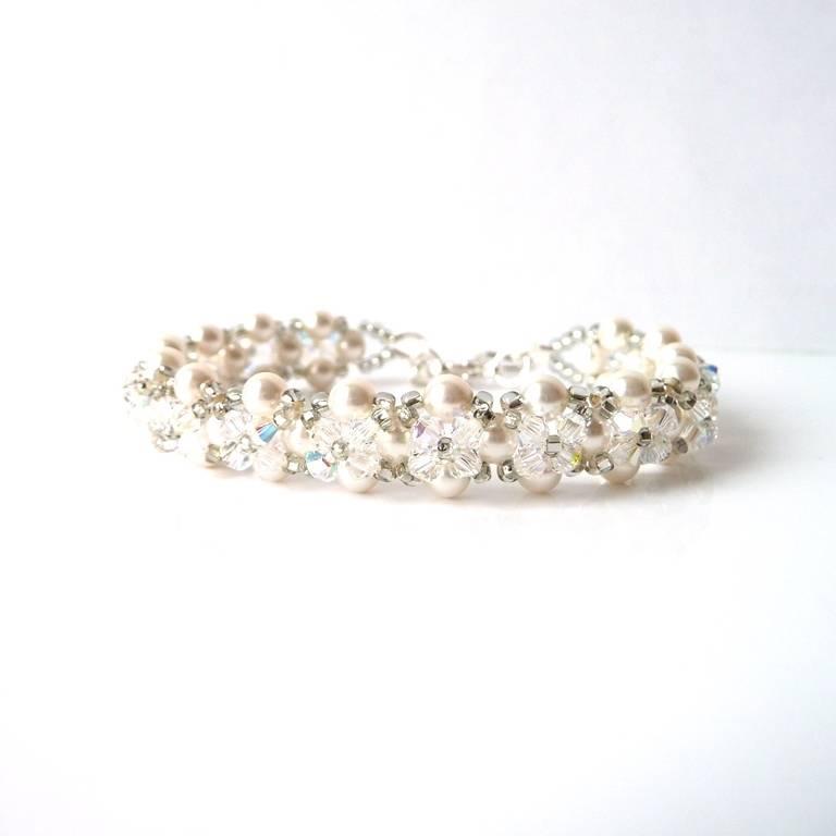 Simple Pearl Bracelet, Single Strand Pearl Bracelet, Wedding Jewelry, Pearl Bridesmaid Jewelry Bracelet
