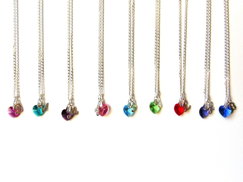 Crysstal Heart Necklace