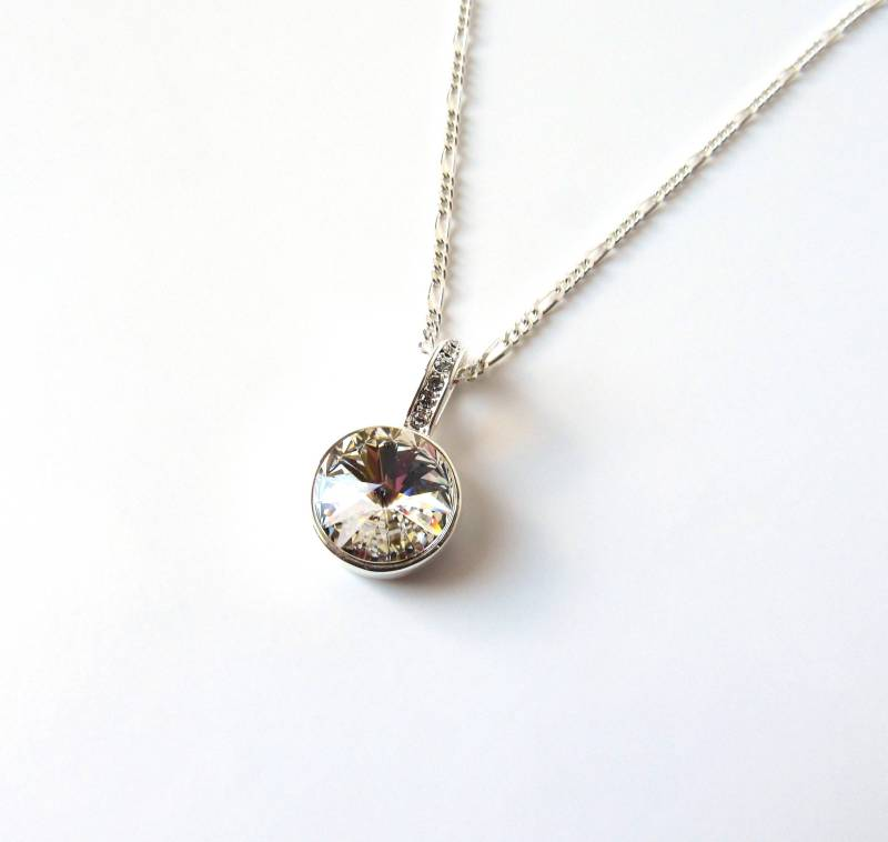 swarovksi crystal necklace