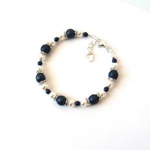 midnight blue bracelet