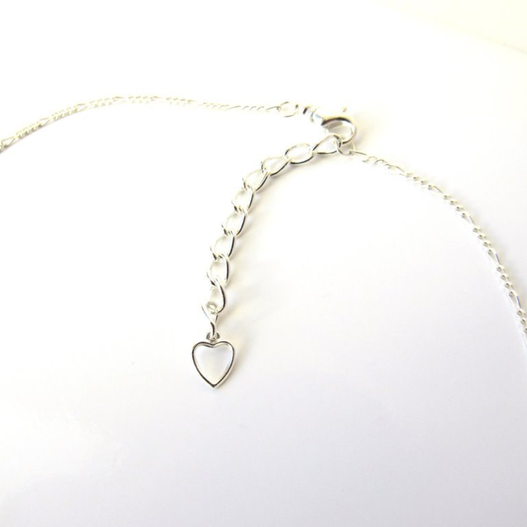 silver chain extension