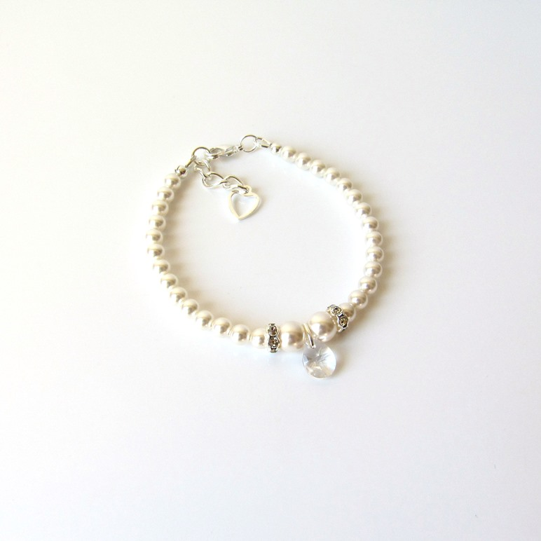 pearl bracelet for girl