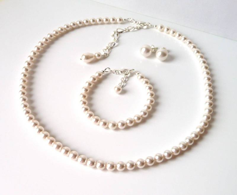 pearl jewelry set_10mmearrings