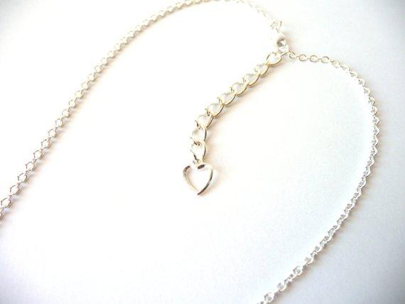 gn4-2-Girls Heart Necklace light amethyst