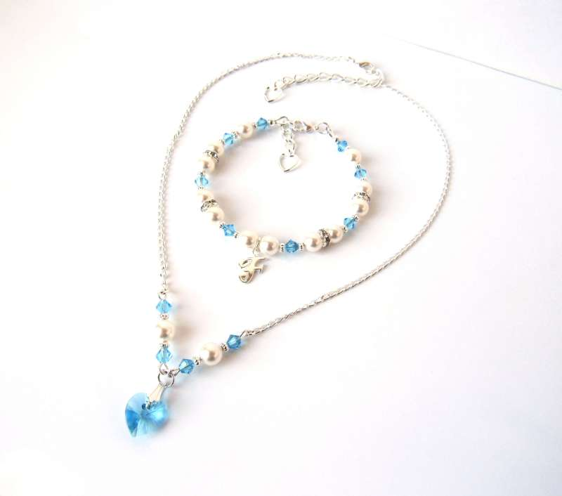 aquamarine jewelry set