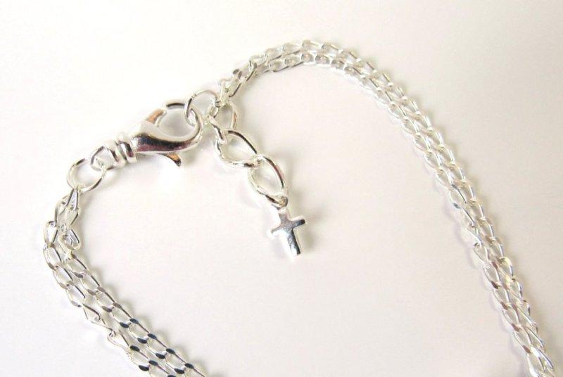 -sideways cross bracelet