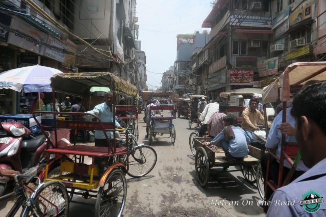 hindistan-sokaklari Delhi'de görülecek yerler