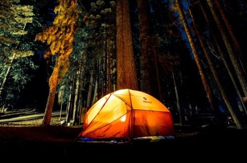 çadırda kalmaktan korkuyorum