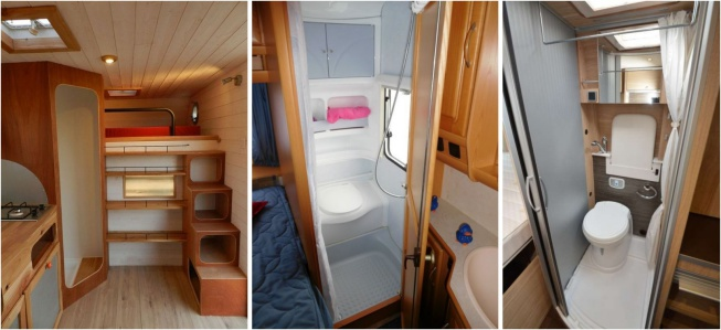 karavan dizaynı banyo