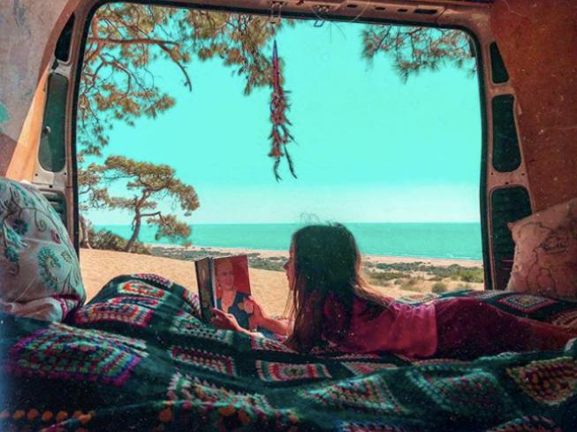 minimal karavan yaşamı