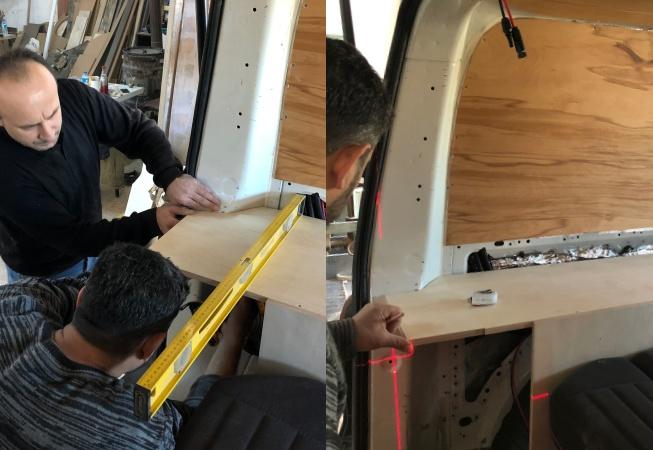 karavan mobilya yapımı