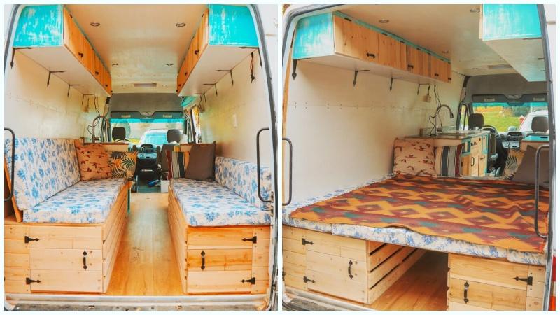 karavan yatak modelleri koltuk