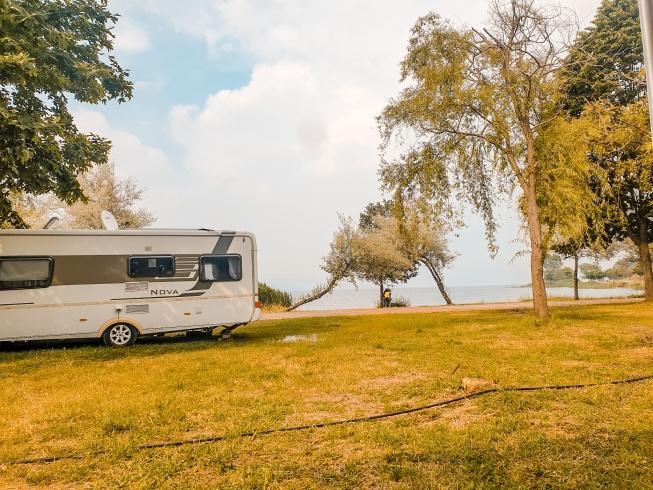 kırkpınar sahili karavan kamp