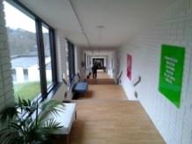 Bergendal Meetings Sollentuna, gång från restaurang