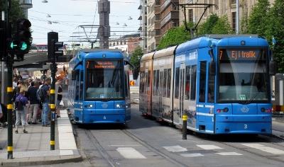 Linje 7 vid Kungsträdgården