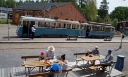 Spårvägsmuseet Malmköping, fika