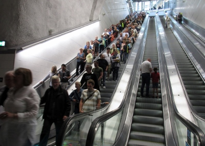 Stockholm City, rulltrappa
