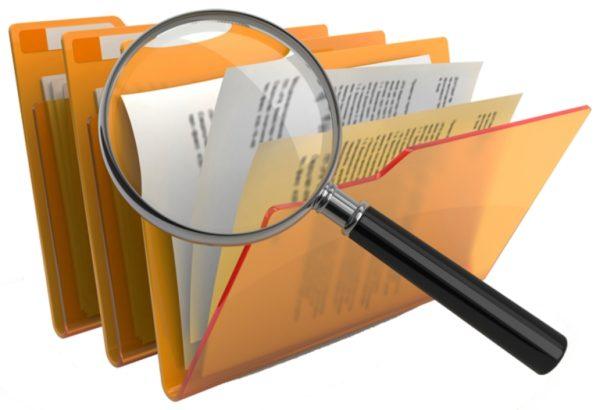 Zvětšení a složky dokumentů