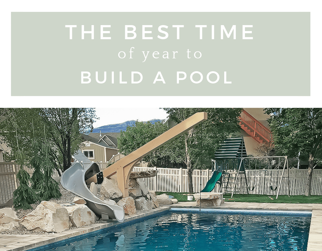 The experience is even better when that pool is in your own backyard for your entire family to enjoy every day — provided those waters always stay. The Best Time To Build A Pool Mellco Landscaping