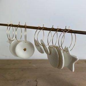 Bijoux en porcelaine