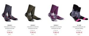 Chaussettes de randonnée homme et femme Cimalp