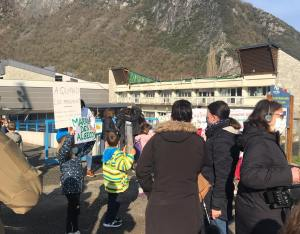 Mobilisation Ecole Saint-Béat