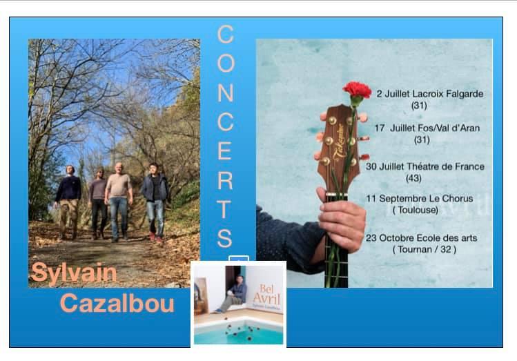 Concert Sylvain Cazalbou