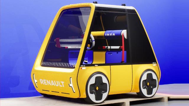 Ikea Höga, voiture en kit