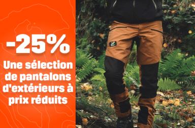25% pantalon de randonnée RVRC