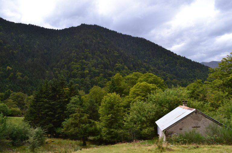 Cabane de l'Artigue à Fos dans les Pyrénées