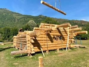 Construction cabane Aouéran