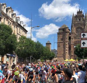 Le Tour de France à Rodez