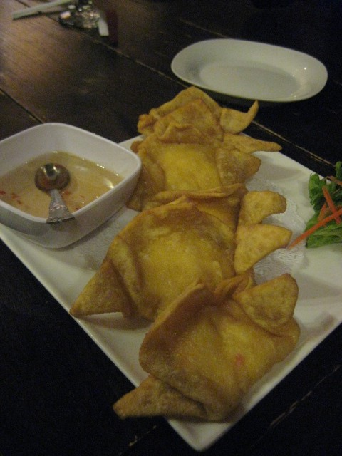 Thai Dee | San Antonio, Texas | Crab Rangoons
