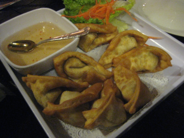 Thai Dee | San Antonio, Texas | Fried Wontons