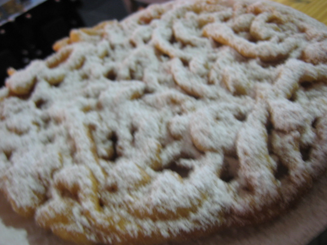 Houston Rodeo | Funnel Cake