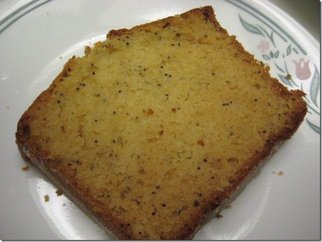Honey Poppy Seed Cake 2