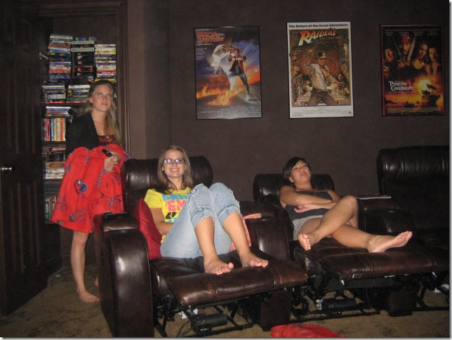 Michelle's Movie Room | Recliners